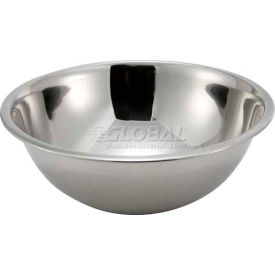 "Winco MXB-300Q Mixing Bowl, 3 Qt, 9-1/2""D - Pkg Qty 12"