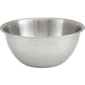 "Winco MXBH-300 Deep Mixing Bowl, 3 Qt, 9""D - Pkg Qty 12"