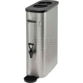 Winco SSBD-5 Stainless Steel Ice Tea Dispenser by