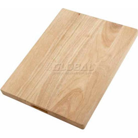 Winco WCB-125 Wooden Bread and Cheese Board - Pkg Qty 24