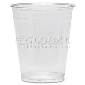 Dixie Plastic Cold Drink Cups, 10 Oz., 25/Pack, Translucent