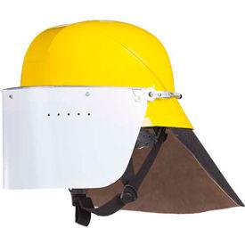 Mullion 2MZP Firefighter Helmet, SOLAS, Yellow, Adult/Universal