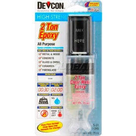 Devcon® 2 Ton® Epoxy, 31345, 25ml Syringe