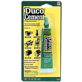 Devcon® DUCO® Cement, Tube, 62435, 1 Oz. Tube
