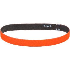 "Dynabrade® Cloth Belt 82528 1/2"" 12"" 80 Grit Ceramic - Pkg Qty 50"