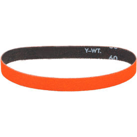 "Dynabrade® Cloth Belt 82555 1/2"" 18"" 60 Grit Ceramic - Pkg Qty 50"