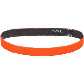 "Dynabrade® Cloth Belt 82560 1/2"" 18"" 80 Grit Ceramic - Pkg Qty 50"