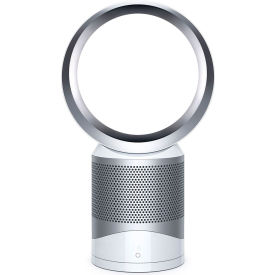 Dyson Pure Cool Link DP01 Desk Fan & Air Purifier, White/Silver