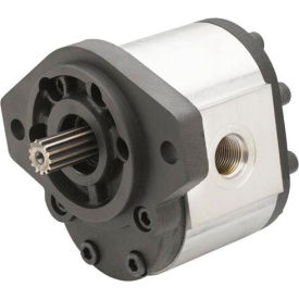 "Dynamic Hydraulic Gear Pump 0.48 cu.in/rev, 1/2 "" Dia. Straight Drive Shaft"