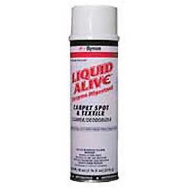 Dymon® Liquid Alive® Stain Remover/Deodorizer, 20 oz. Aerosol Can, 12 Cans - 33420