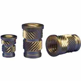 4-40 Straight Ultrasonic Insert - Flanged - Fl-440-Hi - Pkg Qty 100