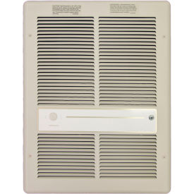 TPI Fan Forced Wall Heater G3314RPW - 2000W 277V Ivory Ivory
