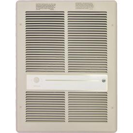 TPI Fan Forced Wall Heater HF3315RP - 3000/2250/1500/1125W 240/208V Ivory