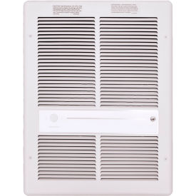 TPI Fan Forced Wall Heater G3314RPW - 2000W 277V White White