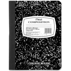 """Mead® Composition Notebook, 7-1/2"""" x 9-3/4"""", College Ruled, 100 Sheets/Pad"""