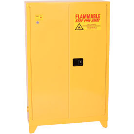 Superior Eagle Flammable Liquid Tower™ Safety Cabinet With Manual Close   45 Gallon