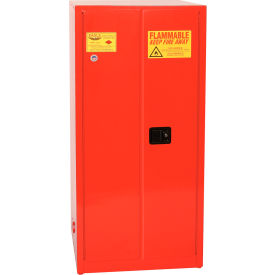 Eagle Paint/Ink Safety Cabinet with Self Close - 96 Gallon Red