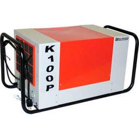 EBAC Versatile Workhorse Dehumidifier K100P, 16 Amps, 700 CFM, 97 Pints