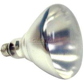 Sunlite, S03690, Heat Lamp, R40, E26 Medium Screw, Clear, 250 Watt