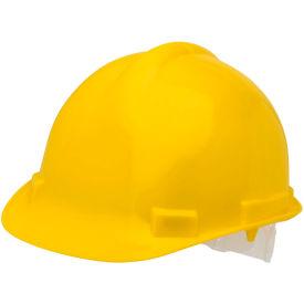 Elvex VOLT Hardhat W/4 Pt. Pin-Lock Suspension, Yellow, WELSC1004PY by
