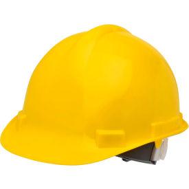 Elvex VOLT Hardhat W/4 Pt. Ratchet Suspension, Yellow,WELSC1004RY by