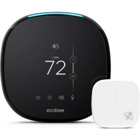 Ecobee4 Pro Smart WiFi Thermostat with Remote Sensor EB-STATE4-01 and Built in Alexa Voice Service