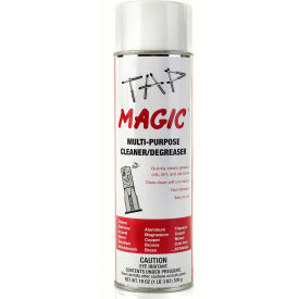 Tap Magic Cleaner/Degreaser Aerosol -  19 oz. - Pkg of 12 - Made In USA - 90019CTC