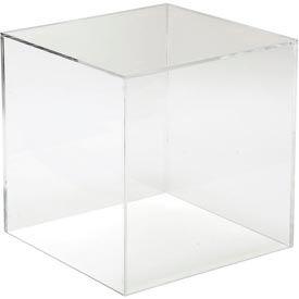 "12""W X 12""D X 12"" H Large Display Cube - Clear - Pkg Qty 2"