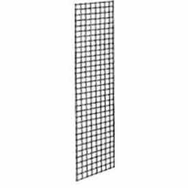 2'W X 8'H - Grid Panel - Chrome - Pkg Qty 3