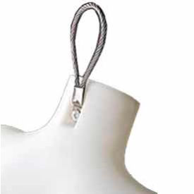 Optional Wire Loop For 3/4 Torso - Pkg Qty 50