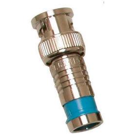 Eclipse Tools 705-007-BU BNC Connector RG6Q, Blue, 100/Pk