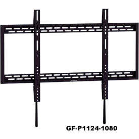 audio visual mounts flat panel wall mount flat tilting gforce fixed tv wall mount bracket. Black Bedroom Furniture Sets. Home Design Ideas