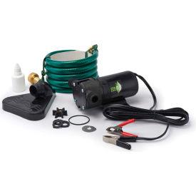 Eco-Flo PUP61DC Portable Light Weight Utility Pump W/6 Ft Garden Hose & Suction Accessory -360 GPH