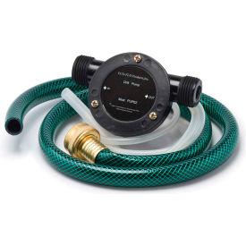 Eco Flo Pup62 Portable Utility Drill Pump W 6 Ft Garden Hose 3
