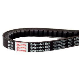 V-Belt, 1/2 X 57.2 In., AX55, Raw Edge Cogged