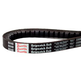 V-Belt, 21/32 X 131 In., BX128, Raw Edge Cogged
