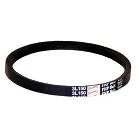 V-Belt, 3/8 X 49 In., 3L490, Light Duty Wrapped