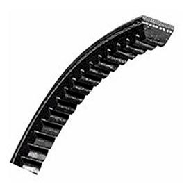 V-Belt, 1 X 125 In., 8VX1250, Raw Edge Cogged