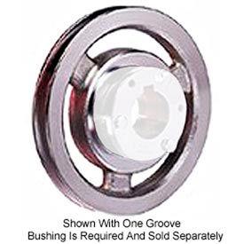 Browning Cast Iron, 4 Groove, B5V Sheave, 4B5V124