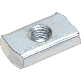 """Strut Nut Zinc 1/4"""" - Pkg Qty 100"""
