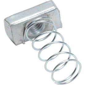"Strut Nut W/Spring Zinc 1/4"" - Pkg Qty 139"