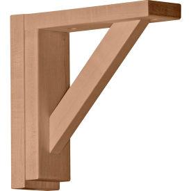 """Ekena Small Traditional Shelf Bracket BKT02X08X08TR, 2-1/2""""W x 8-3/4""""D x 8-1/4""""H"""
