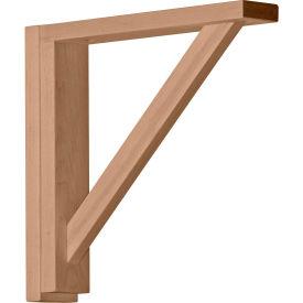 """Ekena Traditional Shelf Bracket BKT02X12X12TRRW, 2-1/2""""W x 12-3/4""""D x 12-1/4""""H"""