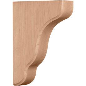 """Ekena Plymouth Wood Bracket BKTW02X05X08PLAL, 1-3/4""""W x 5-1/4""""D x 7-1/2""""H"""