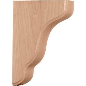 """Ekena Plymouth Wood Bracket BKTW02X07X10PL, 1-3/4""""W x 7-1/4""""D x 9-1/2""""H"""