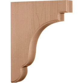 "Ekena Bedford Wood Bracket BKTW02X09X11BEAL, 1-3/4""W x 8-1/2""D x 11""H"