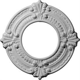 "Ekena Benson Ceiling Medallion CM09BN, 9""OD x 4-1/8""ID x 5/8""D"