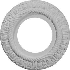 "Ekena Claremont Ceiling Medallion CM09CL, 9""OD x 4-3/8""ID x 1/2""D"