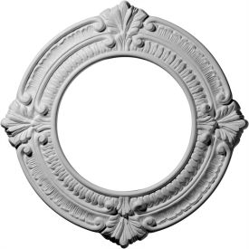 "Ekena Benson Ceiling Medallion CM11BN, 11-1/8"" OD x 6-1/8""ID x 5/8""D"