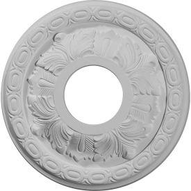 """Ekena Leaf Ceiling Medallion CM11LF, 11-3/8""""OD x 3-5/8""""ID x 1-1/8""""D"""